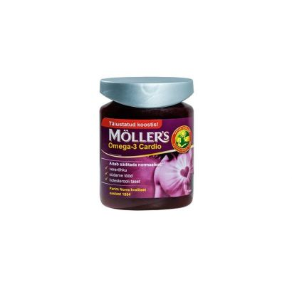 Möller's Omega-3 Cardio kapslid N76