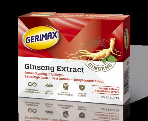 GERIMAX Ginseng tabletid 200 MG N30